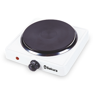 Плитка электро Sakura ПЭ-09 1500Вт 185мм 1конф/диск