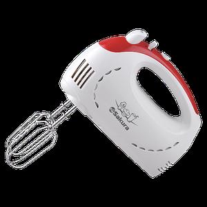Миксер электр Sakura SA-6319R 350Вт бел/красн