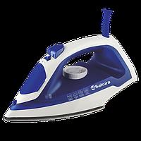 Утюг Sakura SA-3057SBL 2000Вт самоочист нерж