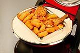 Пиццамейкер - мини печь для выпечки пиццы  G3 ferrari Delizia G10006 серая, фото 6
