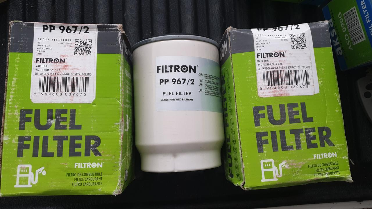 "D110/H150(1""-14 UNS) FILTRON PP967/2 Топливный фильтр MANN PL270"