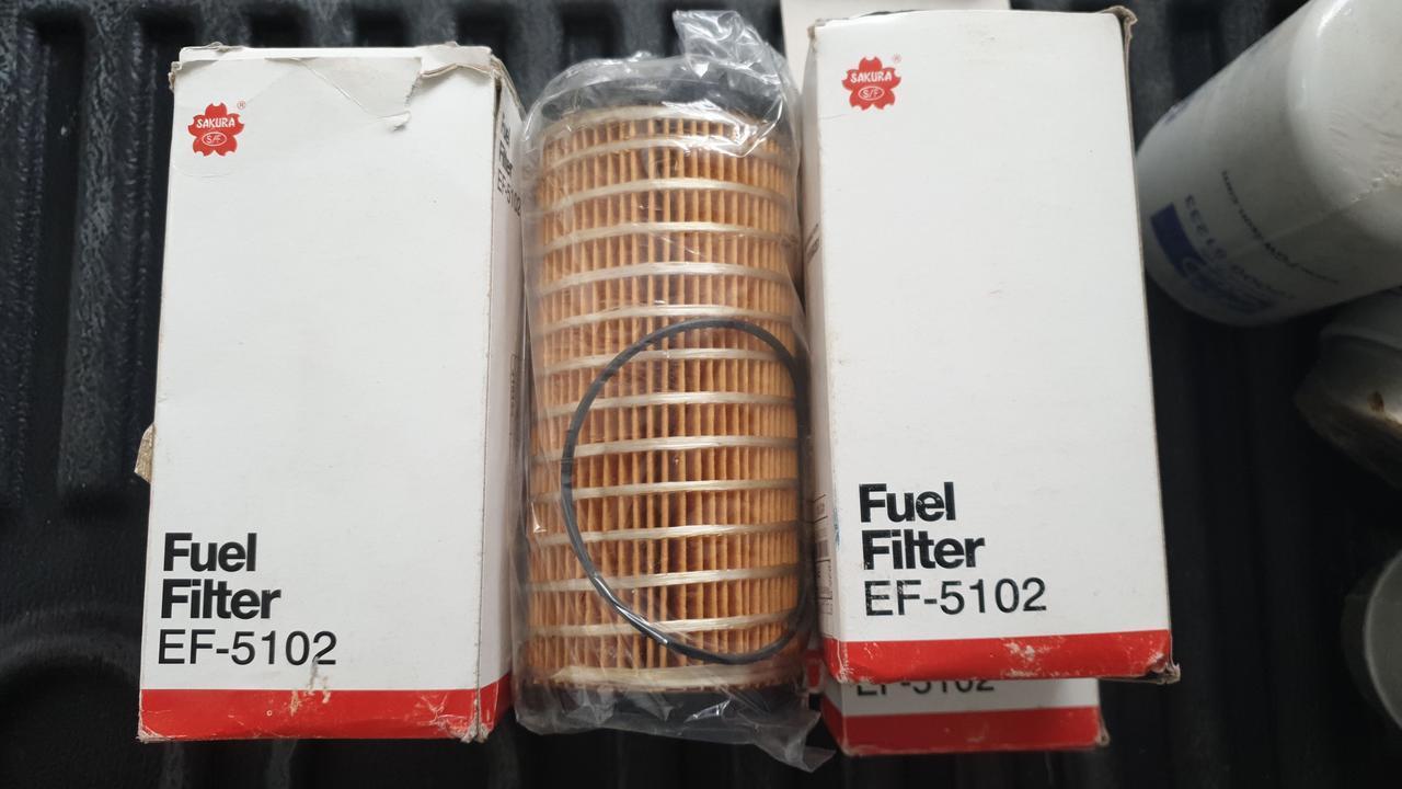 D76/H159(1-1/4x12 UNF) SAKURA EF-5102  Фильтр топливный (элемент)