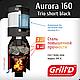 Печь для бани Grill'D Aurora 160 Trio short black 6-16 м3, фото 5