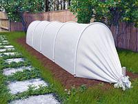 Парник с укрывным материалом «АгроДом» с УФ-защитой (8 метров)