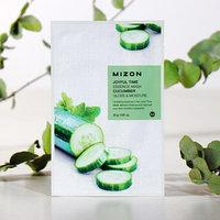 Тканевая маска для лица с экстрактом огурца MIZON Joyful Time Essence Mask Cucumber, 23 г