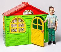 Детский домик Doloni зеленый 02550/3