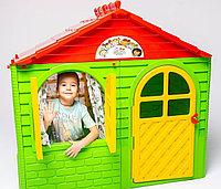 Детский игровой пластиковый домик Долони Doloni зеленый 025500/3, фото 1