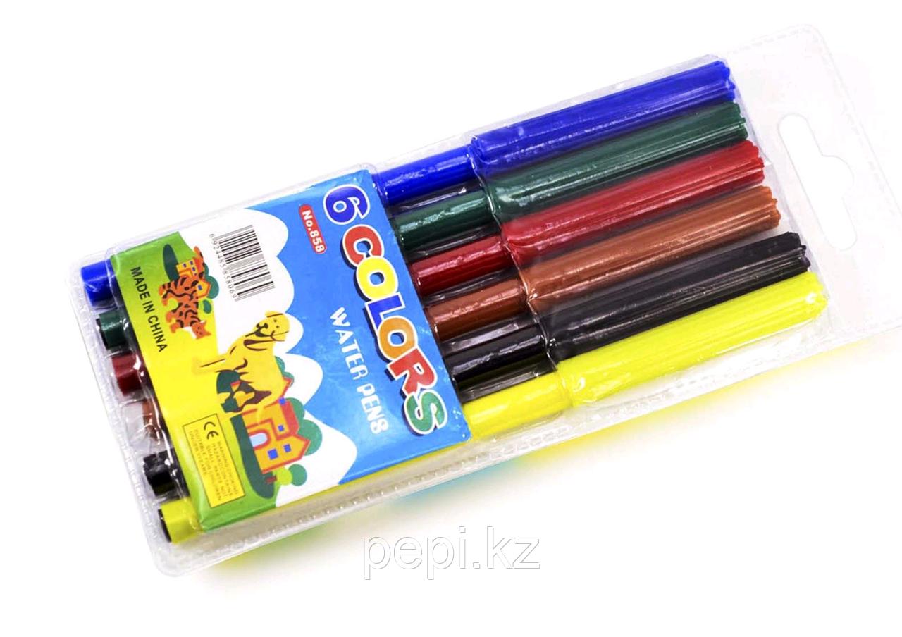 Фломастеры 6 цв. Color