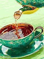 """Картина по номерам """"Ароматный чай"""" , 40х50 см"""