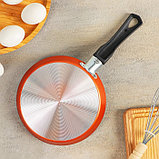 Сковорода блинная «Шёлк», 18 см, фото 5