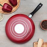 Сковорода 26 см «Blaze», со стеклянной крышкой, фото 4