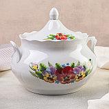 Набор для пельменей «Фиалка», 7 предметов: ваза 3 л, миски 17,5 см, фото 2