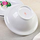 Набор для пельменей «Колокольчики», 7 предметов: ваза для супа 2,2 л, 6 мисок 600 мл, фото 4