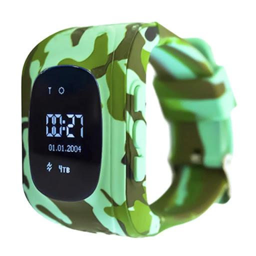 SMART часы с GPS трекером (Q50) khaki