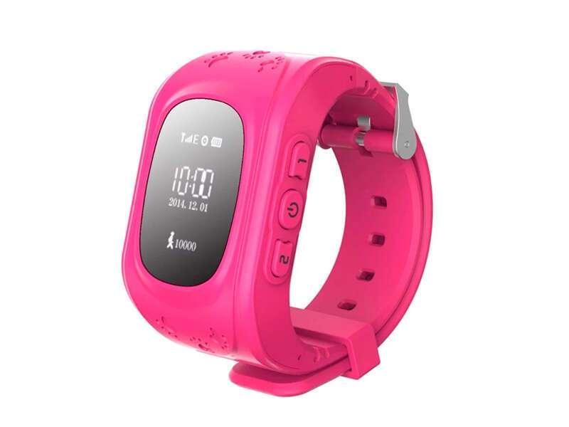 SMART часы с GPS трекером Q50 pink