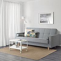 АСКЕСТА 3-местный диван-кровать, Книса светло-серый, фото 1