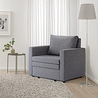ВАТТВИКЕН Кресло-кровать, лерхага светло-серый, фото 1