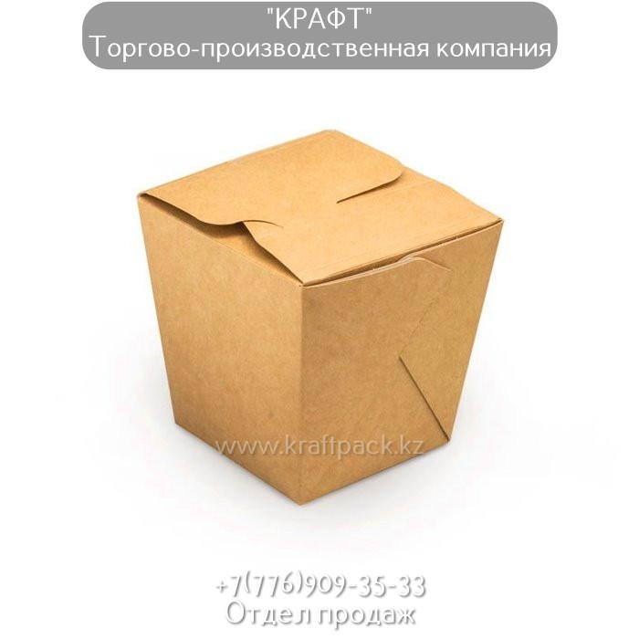 Коробочка для плова, лагмана, лапши WOK 700 мл (Eco Noodles 700gl) DoEco (90/360)