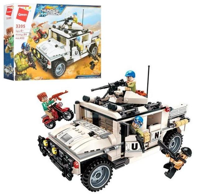 "Конструктор Brick/Qman 3205 ""Нападение на Хаммер"", 452 детали"