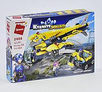 """Конструктор Brick 2408 """"Грузовой самолет"""", 283 детали"""