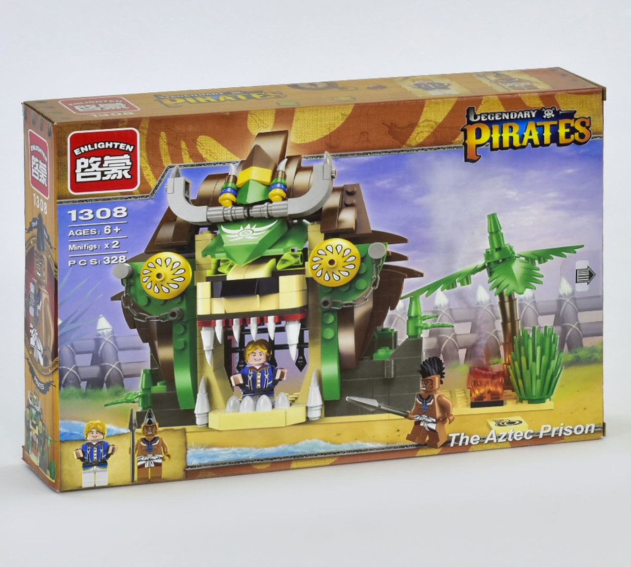 """Конструктор Brick 1308 """"Пиратская серия"""", 328 деталей"""