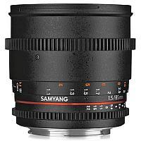 Samyang 85mm T1.5 AS IF UMC VDSLR II Canon EF