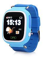 SMART часы с GPS трекером Q90 blue