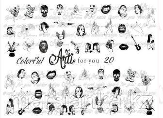 Слайдер дизайн ArtiForYou Color Ful #20