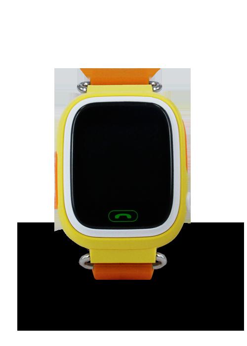 SMART часы с GPS трекером Q90 yellow