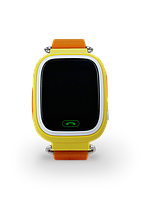 SMART часы с GPS трекером Q90 yellow, фото 1
