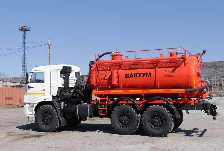 Вакуумная машина МВ-10  КАМАЗ 43118-50