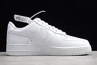 "Кожаные кроссовки Nike Air Force 1 '07 Low ""White"" (36-46), фото 2"