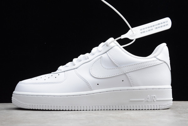 "Кожаные кроссовки Nike Air Force 1 '07 Low ""White"" (36-46)"