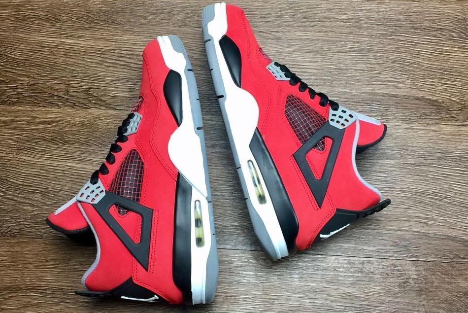 """Кроссовки Air Jordan 4(IV) Retro """"Toro Bravo"""" (36-46) - фото 7"""