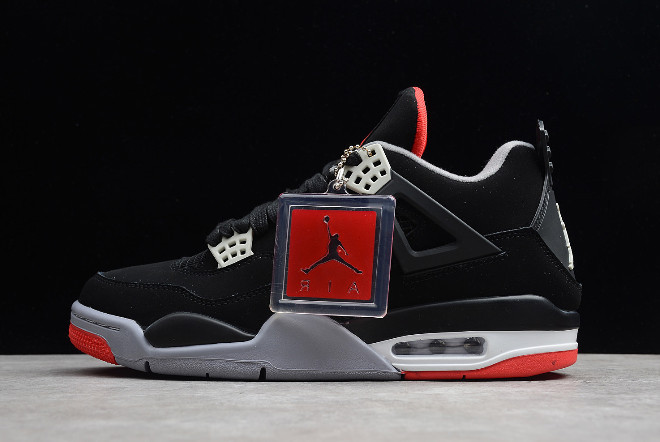 "Кроссовки Air Jordan 4(IV) Retro ""Bred"" (36-46)"