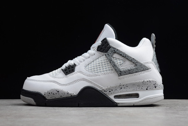 "Кроссовки Air Jordan 4(IV) ""White Cement Grey"" (40-46)"