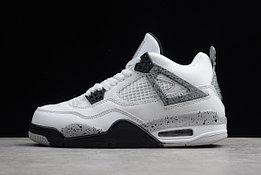 """Кроссовки Air Jordan 4(IV) """"White Cement Grey"""" (40-46)"""