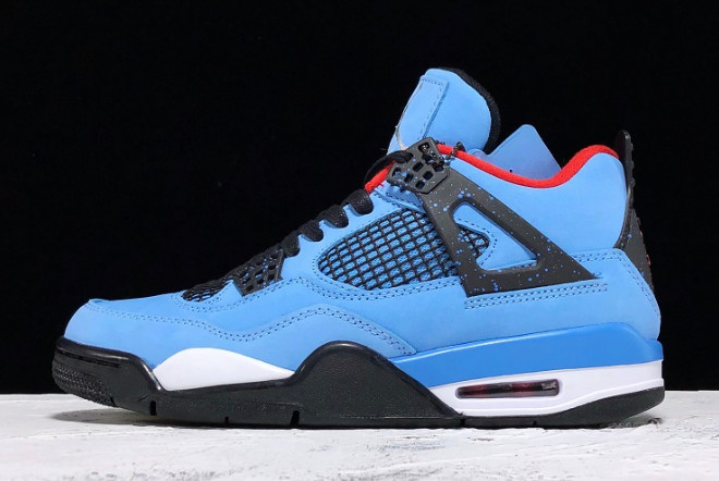"Кроссовки Travis Scott x Air Jordan 4 ""Houston Oilers"" (40-47)"