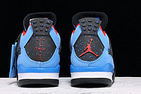 "Кроссовки Travis Scott x Air Jordan 4 ""Houston Oilers"" (40-47), фото 5"