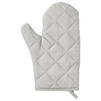 Варежка-прихватка ИРИС серый ИКЕА, IKEA