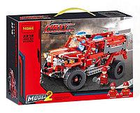 """Детский конструктор 2 в 1 Decool 3375 """"Служба быстрого реагирования"""" (аналог Lego Technic 42075), 513 деталей, фото 1"""