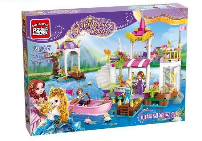 """Конструктор Enlighten Brick 2607 Princess Leah """"Причал принцессы"""", 358 деталей"""