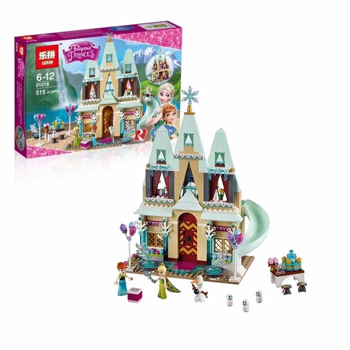 """Конструктор Lepin 01018 (аналог Lego Disney Princess 41068) """"Праздник в замке Эренделл"""", 515 деталей"""
