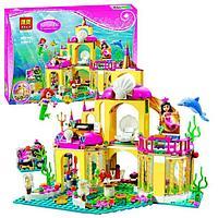 """Конструктор Bela 10436 (аналог Lego Disney Princess 41063) """"Подводный дворец Ариэль"""", 383 детали, фото 1"""