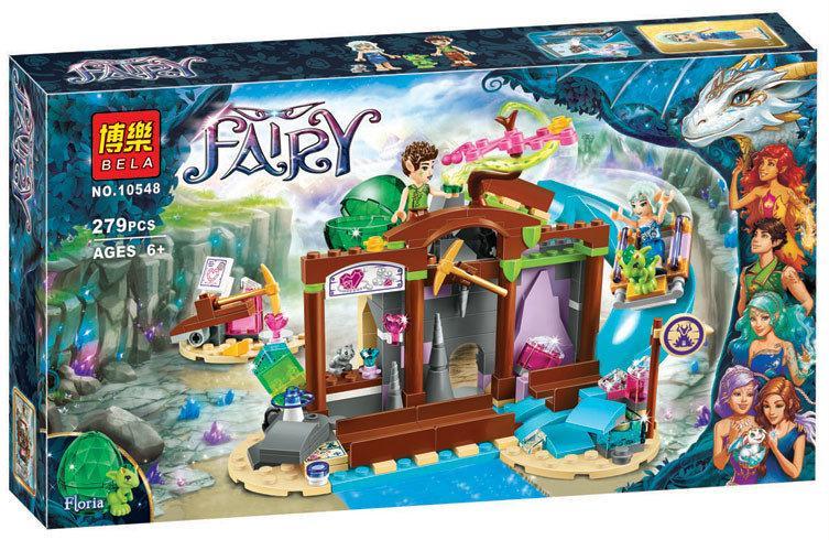 "Конструктор Bela Fairy 10548 аналог Lego Elves 41177 ""Шахта драгоценных кристалов"", 279 деталей"