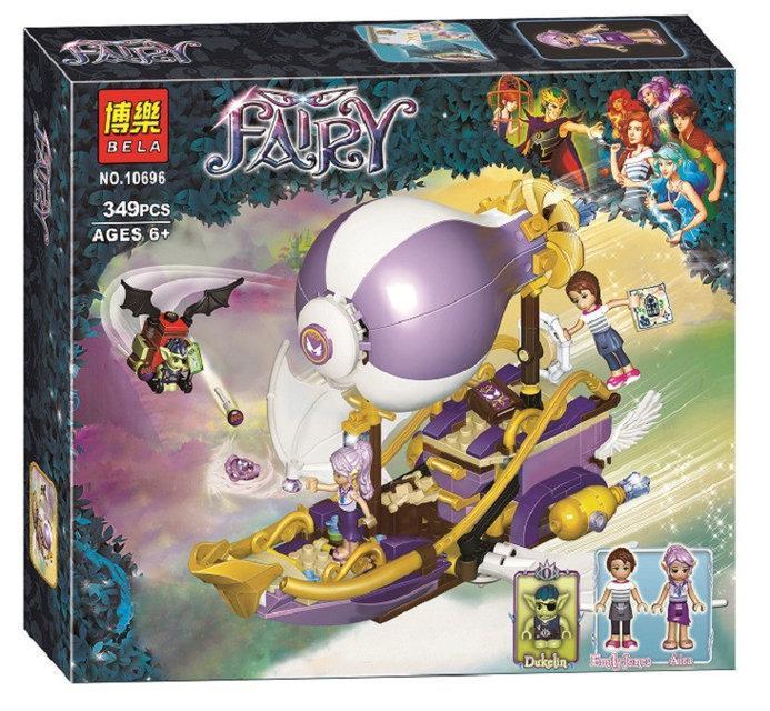 "Конструктор Bela Fairy 10696 аналог Lego Elves 41184 ""Погоня за амулетом"", 349 деталей"