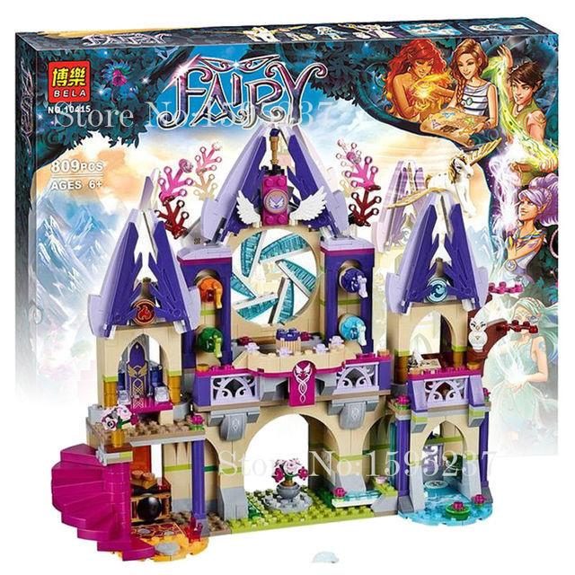 """Конструктор Bela Fairy (Фейри) 10415 аналог Lego Elves """"Воздушный замок Скайры"""", 809 деталей"""