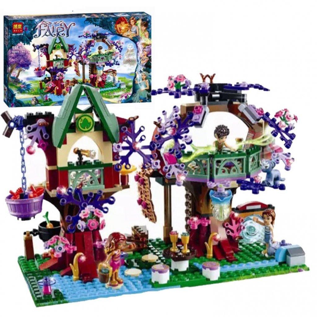 """Конструктор Bela Fairy (Фейри) 10414 аналог Lego Elves """"Убежище Эльфов"""", 507 деталей"""