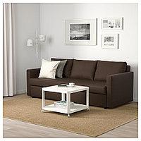 ФРИХЕТЭН 3-местный диван-кровать, Шифтебу коричневый, фото 1