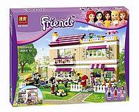 """Конструктор Bela 10164 """"В гостях у Оливии"""" (аналог Lego Friends 3315), 695 деталей, фото 1"""